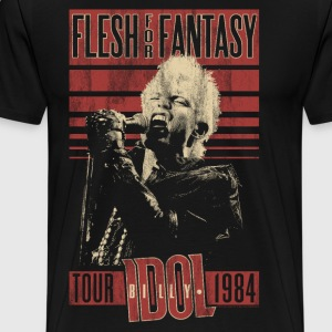 Flesh For Fantasy Billy Idol - Männer Premium T-Shirt