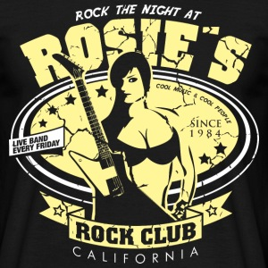 Rosies Rock Club - Männer T-Shirt