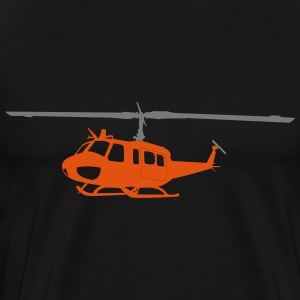 Bell UH- Orange - Männer Premium T-Shirt