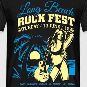 Long Beach Rock Fest - Männer T-Shirt