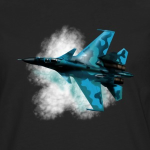 Fighter Su-33 Long sleeve shirts - Men's Premium Longsleeve Shirt