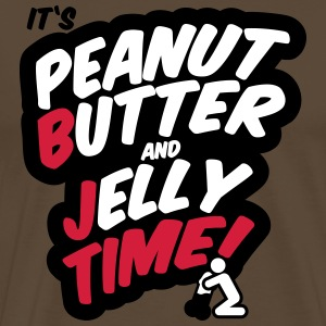 Peanut butter and jelly time, blowjob Tee shirts - T-shirt Premium Homme
