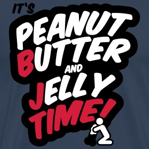 Peanut butter and jelly time, blowjob T-shirts - Mannen Premium T-shirt