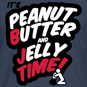 Peanut butter and jelly time, blowjob Langarmshirts - Männer Premium Langarmshirt