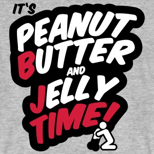 Peanut butter and jelly time, blowjob Tee shirts - T-shirt bio Homme