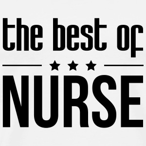 the best of Nurse T-skjorter - Premium T-skjorte for menn