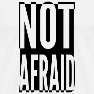 Not Affraid_V2 T-shirts - Herre premium T-shirt