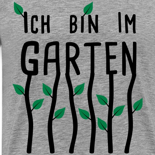 Garten - Ich bin im Garten