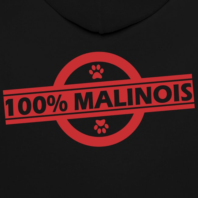 Sweet à capuche 100% Malinois