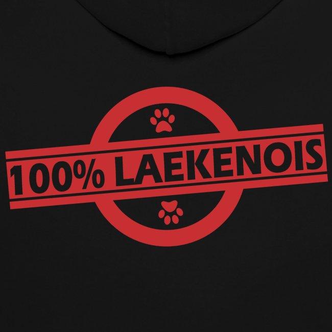 Sweet à capuche 100% Laekenois
