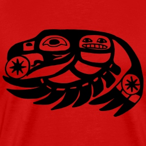 native indian eagle tribe - Men's Premium T-Shirt