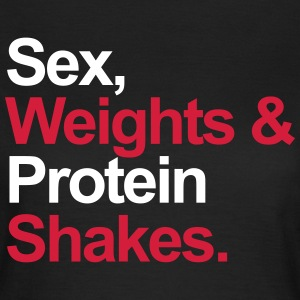 Protein Shakes  T-shirts - Vrouwen T-shirt