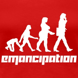 Emancipation (Vector) - Frauen Premium T-Shirt