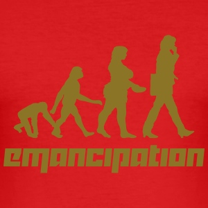 Emancipation (Vector) - Männer Slim Fit T-Shirt