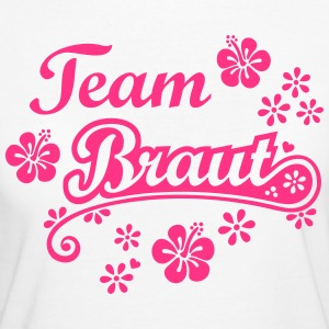 Team Braut Security Brautjungfer Logo  T-Shirts - Frauen Bio-T-Shirt