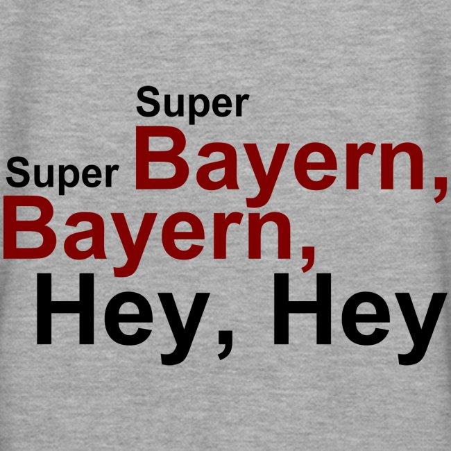 Super Bayern - Druck Hinten