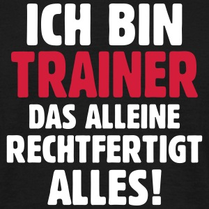 Hockey Eishockey Feldhockey Trainer Coach Statemen - Männer T-Shirt