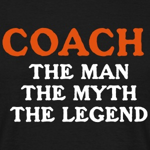 Coach Trainer Train Myth Legend T-Shirts - Männer T-Shirt