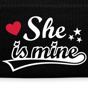 She's mine Love girlfriend. Valentine's Day gifts  Caps & Hats - Winter Hat