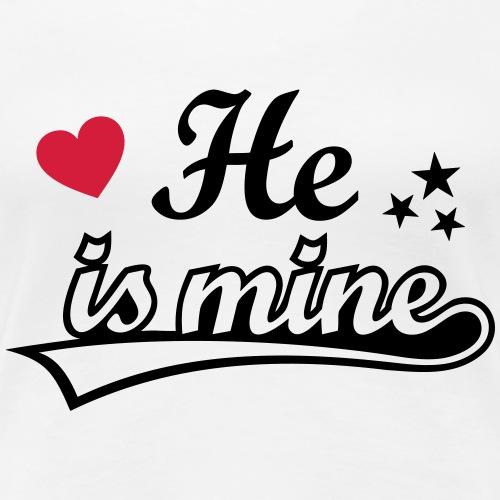 He is mine I love you Boyfriend liebe Dich lover