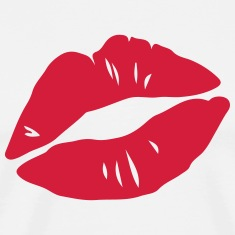 Kissing Lips, Valentines Day, Love, Kiss, Mouth Magliette