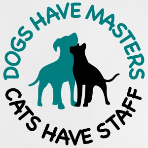 Dogs have masters and cats have staff Shirts - Baby T-Shirt