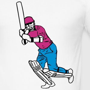 cricket T-Shirts - Men's Slim Fit T-Shirt