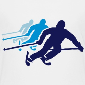 ski resort skies ski area skiing Shirts - Teenage Premium T-Shirt