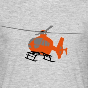 EC-135 Orange - Männer T-Shirt