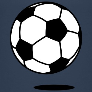 football with shadow / ball with shadow 2c Skjorter - Premium T-skjorte for tenåringer