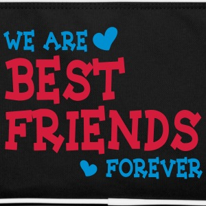 we are best friends forever ii 2c Tassen & rugzakken - Retro-tas