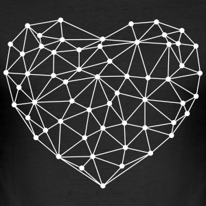 Geo Heart - slim fit T-shirt