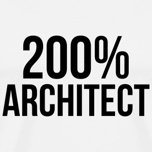 200% Architect T-Shirts - Men's Premium T-Shirt