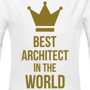 Best Architect in the World Hoodies - Longlseeve Baby Bodysuit