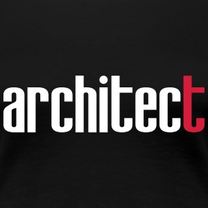 Architect T-skjorter - Premium T-skjorte for kvinner