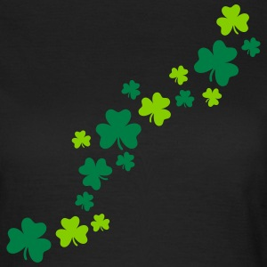 Shamrocks T-Shirts - Frauen T-Shirt
