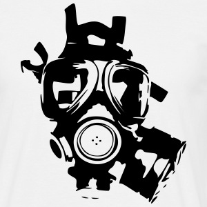 Gas mask T-Shirts - Men's T-Shirt