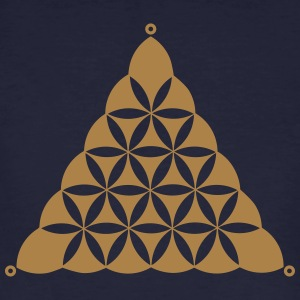 Crop circle, Flower Of Life, Triangle, Waden Hill T-Shirts - Men's Organic T-shirt