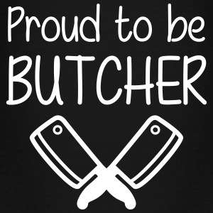 Proud to be Butcher Shirts - Teenage Premium T-Shirt