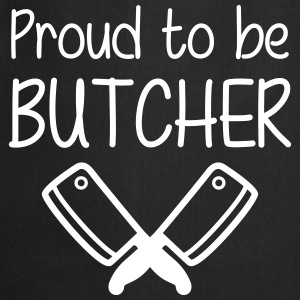 Proud to be Butcher Forklær - Kokkeforkle