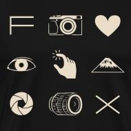 Design ~ Fuji X T-shirt for Men
