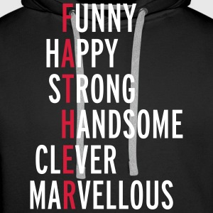 Father  Hoodies & Sweatshirts - Men's Premium Hoodie