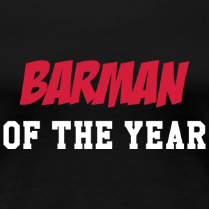 Barman of the year T-shirts - Dame premium T-shirt