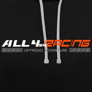 all4x4racing 3-Farbig Hoodies & Sweatshirts - Contrast Colour Hoodie
