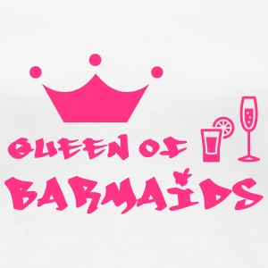 Queen of Barmaids T-shirts - Vrouwen Premium T-shirt