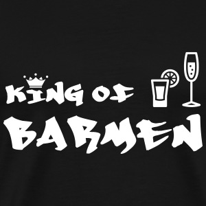 King of Barmen T-Shirts - Men's Premium T-Shirt