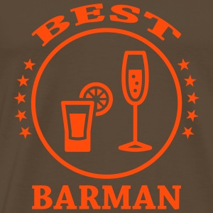 Best Barman T-shirts - Mannen Premium T-shirt