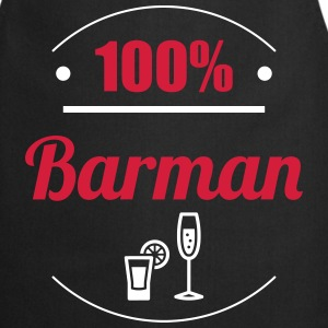100% Barman  Aprons - Cooking Apron