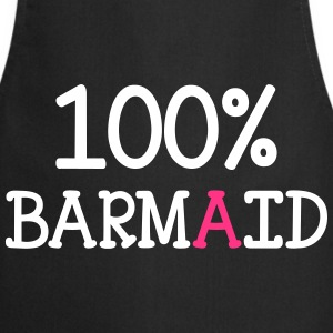 100% Barmaid  Aprons - Cooking Apron