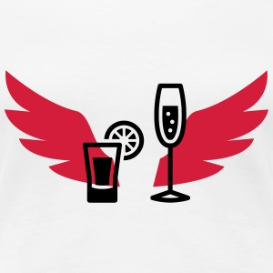 Barman / Cocktail T-Shirts - Frauen Premium T-Shirt